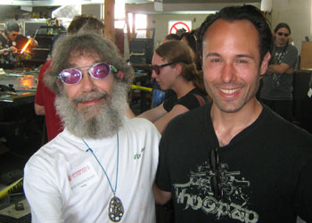 With Bob Snodgras at 2009 Degenerate Flameoff